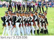Купить «Лейб-гвардии Семёновский полк», фото № 3729036, снято 27 мая 2012 г. (c) Сергей Великанов / Фотобанк Лори