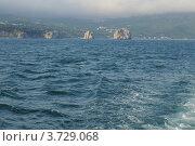 Скалы Адалары вид с моря. Стоковое фото, фотограф Александр Довянский / Фотобанк Лори