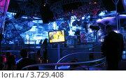 Купить «Ночной клуб(Таймлапс)», видеоролик № 3729408, снято 17 марта 2011 г. (c) Losevsky Pavel / Фотобанк Лори