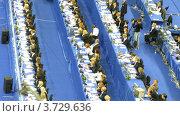 Купить «Жюри на XXX Чемпионате мира по художественной гимнастике», видеоролик № 3729636, снято 12 декабря 2010 г. (c) Losevsky Pavel / Фотобанк Лори
