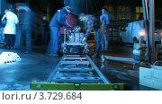 Купить «На съемках видеоклипа(Таймлапс)», видеоролик № 3729684, снято 18 декабря 2010 г. (c) Losevsky Pavel / Фотобанк Лори