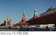 Купить «Красная площадь», видеоролик № 3730936, снято 11 января 2011 г. (c) Losevsky Pavel / Фотобанк Лори