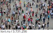 Купить «Люди танцуют латинские танцы на улицах города», видеоролик № 3731256, снято 16 марта 2011 г. (c) Losevsky Pavel / Фотобанк Лори