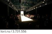 Купить «Женщины на показе моды CPM в Collection Premiere в Экспо-центре», видеоролик № 3731556, снято 26 декабря 2010 г. (c) Losevsky Pavel / Фотобанк Лори