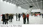 Люди в зале на Trend Vision Award 2010 (2011 год). Редакционное видео, видеограф Losevsky Pavel / Фотобанк Лори