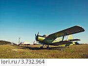 Маленький винтовой грузовой самолет (2012 год). Редакционное фото, фотограф Олег Скударнов / Фотобанк Лори