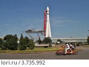 "Купить «Ракета ""Восток"" на ВВЦ (ВДНХ). Москва», эксклюзивное фото № 3735992, снято 3 августа 2012 г. (c) lana1501 / Фотобанк Лори"
