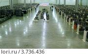Купить «Крокус Экспо(таймлапс)», видеоролик № 3736436, снято 9 июня 2011 г. (c) Losevsky Pavel / Фотобанк Лори