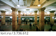 Купить «Московский метрополитен», видеоролик № 3736612, снято 28 апреля 2011 г. (c) Losevsky Pavel / Фотобанк Лори
