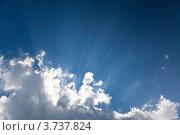 Купить «Небесный пейзаж», фото № 3737824, снято 5 августа 2012 г. (c) Наталья Волкова / Фотобанк Лори