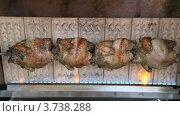 Купить «Курица гриль», видеоролик № 3738288, снято 3 июня 2011 г. (c) Losevsky Pavel / Фотобанк Лори