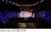 Купить «Боксерский матч в зале Барвиха LUXURY VILLAGE», видеоролик № 3738776, снято 16 июля 2011 г. (c) Losevsky Pavel / Фотобанк Лори