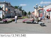 Улица Ленина (Арбат). Улан-Удэ (2012 год). Редакционное фото, фотограф Анна Зеленская / Фотобанк Лори