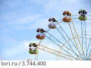 Колесо обозрения (2012 год). Редакционное фото, фотограф Елена Таранец / Фотобанк Лори