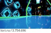 Купить «Маленькая девочка играет в настольную игру с диском», видеоролик № 3754696, снято 5 сентября 2011 г. (c) Losevsky Pavel / Фотобанк Лори