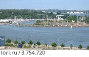 Купить «Яхты в красивой бухте, тайм лапс», видеоролик № 3754720, снято 14 августа 2011 г. (c) Losevsky Pavel / Фотобанк Лори