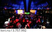 Купить «Ночной клуб», видеоролик № 3757992, снято 6 октября 2011 г. (c) Losevsky Pavel / Фотобанк Лори