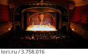Купить «Театр Новая Опера», видеоролик № 3758016, снято 31 октября 2011 г. (c) Losevsky Pavel / Фотобанк Лори