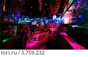 Купить «Ночной клуб», видеоролик № 3759232, снято 14 октября 2011 г. (c) Losevsky Pavel / Фотобанк Лори