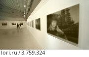Купить «Посетители на фото выставке», видеоролик № 3759324, снято 14 декабря 2011 г. (c) Losevsky Pavel / Фотобанк Лори