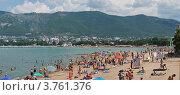 Купить «Современные пляжи Геленджика», фото № 3761376, снято 29 января 2020 г. (c) Игорь Архипов / Фотобанк Лори
