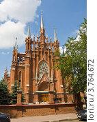 Купить «Москва, католический костёл Непорочного зачатия девы Марии», фото № 3764672, снято 15 июня 2012 г. (c) ИВА Афонская / Фотобанк Лори