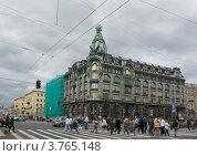 Невский проспект.Санкт-Петербург (2012 год). Редакционное фото, фотограф Владимир Макеев / Фотобанк Лори