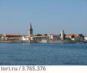 Купить «Адриатическое море. Город Пореч. Хорватия. Европа», эксклюзивное фото № 3765376, снято 21 июля 2018 г. (c) lana1501 / Фотобанк Лори