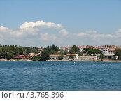 Купить «Адриатическое море. Город Пореч. Хорватия. Европа», эксклюзивное фото № 3765396, снято 21 июля 2018 г. (c) lana1501 / Фотобанк Лори
