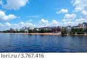 Купить «Самара. Вид с Волги», фото № 3767416, снято 30 июня 2012 г. (c) Евгений Ткачёв / Фотобанк Лори