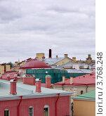Купить «Санкт-Петербург. Крыши зданий, расположенных на территории Петропавловской крепости», фото № 3768248, снято 11 августа 2012 г. (c) Илюхина Наталья / Фотобанк Лори