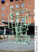 Купить «Трубопровод. Композиция из труб. Стокгольм», эксклюзивное фото № 3769448, снято 10 августа 2012 г. (c) Александр Щепин / Фотобанк Лори