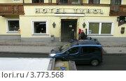 Купить «Отель Тироль в Зольдене, Австрия, таймлапс», видеоролик № 3773568, снято 1 марта 2012 г. (c) Losevsky Pavel / Фотобанк Лори