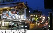 Купить «Магазин горнолыжного снаряжения Moreboards стоит на углу улицы, таймлапс», видеоролик № 3773628, снято 2 марта 2012 г. (c) Losevsky Pavel / Фотобанк Лори