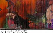 Купить «Участницы выступления на Танец живота Москва 2012 появляются на сцене, таймлапс», видеоролик № 3774092, снято 4 марта 2012 г. (c) Losevsky Pavel / Фотобанк Лори