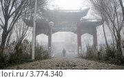 Купить «Люди гуляют по дорожкам в осеннем парке, таймлапс», видеоролик № 3774340, снято 17 января 2012 г. (c) Losevsky Pavel / Фотобанк Лори