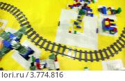 Купить «Игрушечная железная дорога», видеоролик № 3774816, снято 31 января 2012 г. (c) Losevsky Pavel / Фотобанк Лори