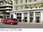 Купить «Шикарные гостиницы и автомобили на набережной Круазет, Канны», фото № 3777140, снято 13 июня 2010 г. (c) ElenArt / Фотобанк Лори