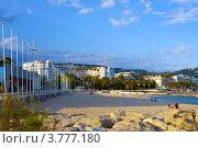 Купить «Лазурное побережье Франции, Канны», фото № 3777180, снято 13 июня 2010 г. (c) ElenArt / Фотобанк Лори