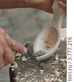 Купить «Изготовления ложки», фото № 3777216, снято 18 августа 2012 г. (c) aaa / Фотобанк Лори