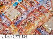 Купить «Деньги Казахстана.Пять тысяч тенге.», эксклюзивное фото № 3778124, снято 25 августа 2012 г. (c) Blekcat / Фотобанк Лори