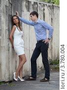 Купить «Двое влюблённых выясняют свои отношения», фото № 3780004, снято 15 июля 2012 г. (c) Михаил Иванов / Фотобанк Лори