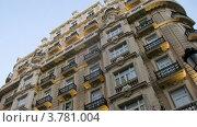 Купить «Красивое здание в Мадриде», видеоролик № 3781004, снято 20 апреля 2012 г. (c) Losevsky Pavel / Фотобанк Лори