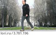 Купить «Ворота Алькала на площади Независимости в Мадриде, таймлапс», видеоролик № 3781196, снято 20 апреля 2012 г. (c) Losevsky Pavel / Фотобанк Лори