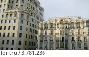 Купить «Здание с колоннами и балконами в Мадриде, таймлапс», видеоролик № 3781236, снято 20 апреля 2012 г. (c) Losevsky Pavel / Фотобанк Лори