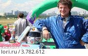 Купить «А.Титов занял третье место», видеоролик № 3782612, снято 16 марта 2012 г. (c) Losevsky Pavel / Фотобанк Лори