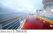 Купить «Движение камеры по палубе корабля», видеоролик № 3784616, снято 24 июля 2012 г. (c) Losevsky Pavel / Фотобанк Лори