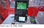 Купить «Навигатор вертолета на выставке», видеоролик № 3785104, снято 30 июля 2012 г. (c) Losevsky Pavel / Фотобанк Лори