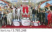 Купить «Церемония награждения Rally Masters Show(таймлапс)», видеоролик № 3785248, снято 29 мая 2012 г. (c) Losevsky Pavel / Фотобанк Лори
