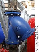 Купить «Система отопления котельной», эксклюзивное фото № 3789716, снято 21 июля 2009 г. (c) Дмитрий Неумоин / Фотобанк Лори